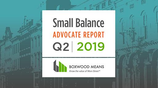 Small Balance advocate quaterly update