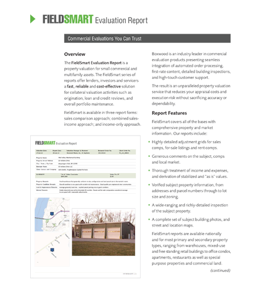 FieldSmart commercial evaluation report