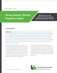 Strong Support, Modest Regulatory Relief