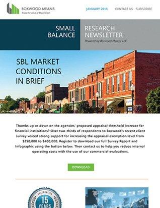 SBL MARKET CONDITIONS IN BRIEF