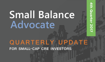 Small Balance advocate quaterly update